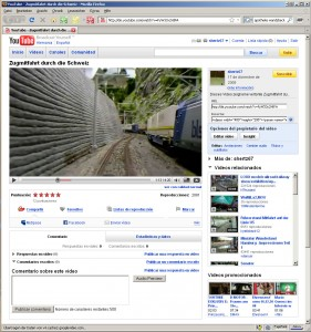Deutsches Youtube-Portal in spanischer Sprache...