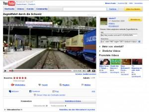 Youtube Videos mit Link: -In hoher Qualität ansehen- direkt unter dem Film.