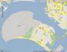 Selbe Stadt, selbe Insel: Stadtplan für die SS-Runen in San Diego / Amerika