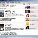 Bild.de Titelseite vom 30.9.2008