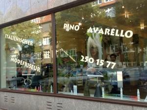 Italienische Modefriseur Pino Avarello in Hamburg
