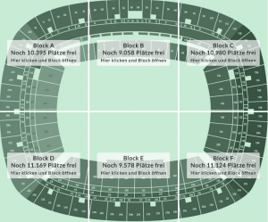 Dein Platz im Miniatur-Olympia-Stadion (Stand 22.11.2014)
